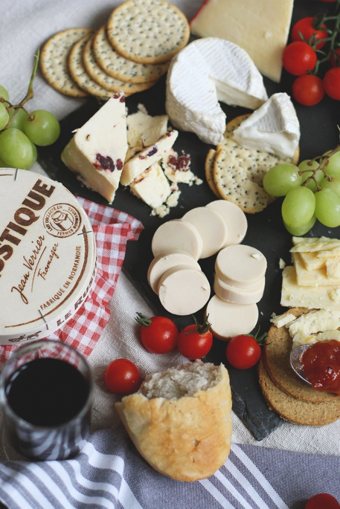 Ingredients for the perfect cheeseboard, Bumpkin Betty