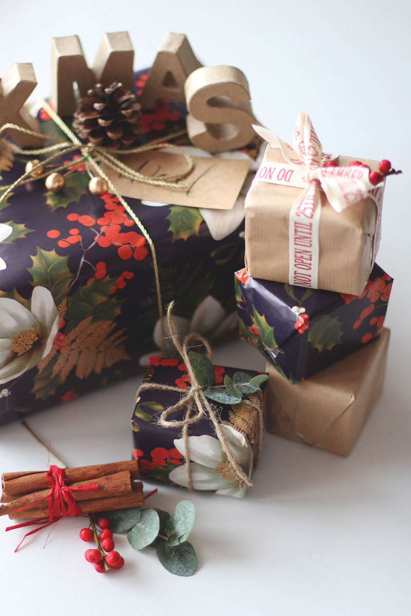 Marks and Spencer gift wrapping, Bumpkin betty