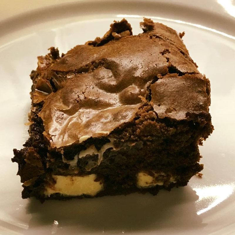 Triple chocolate brownies, Bumpkin Betty Baking Club