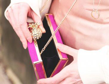Zara pink suede mini bag, Bumpkin Betty
