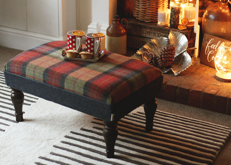 Art of the Loom footstool, Bumpkin Betty