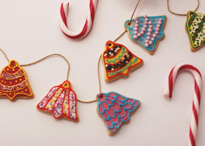 Bell shaped christmas cookies, Bumpkin Betty