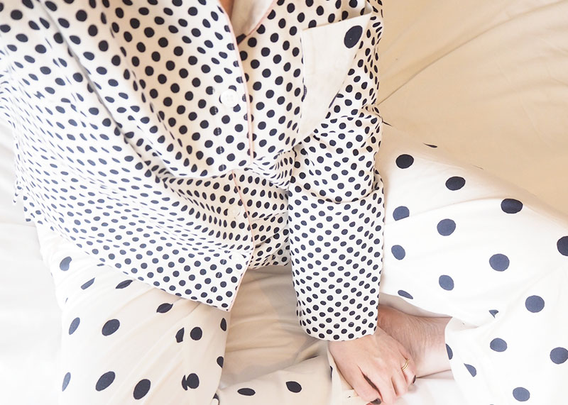 Boden polka dot pyjamas, Bumpkin betty