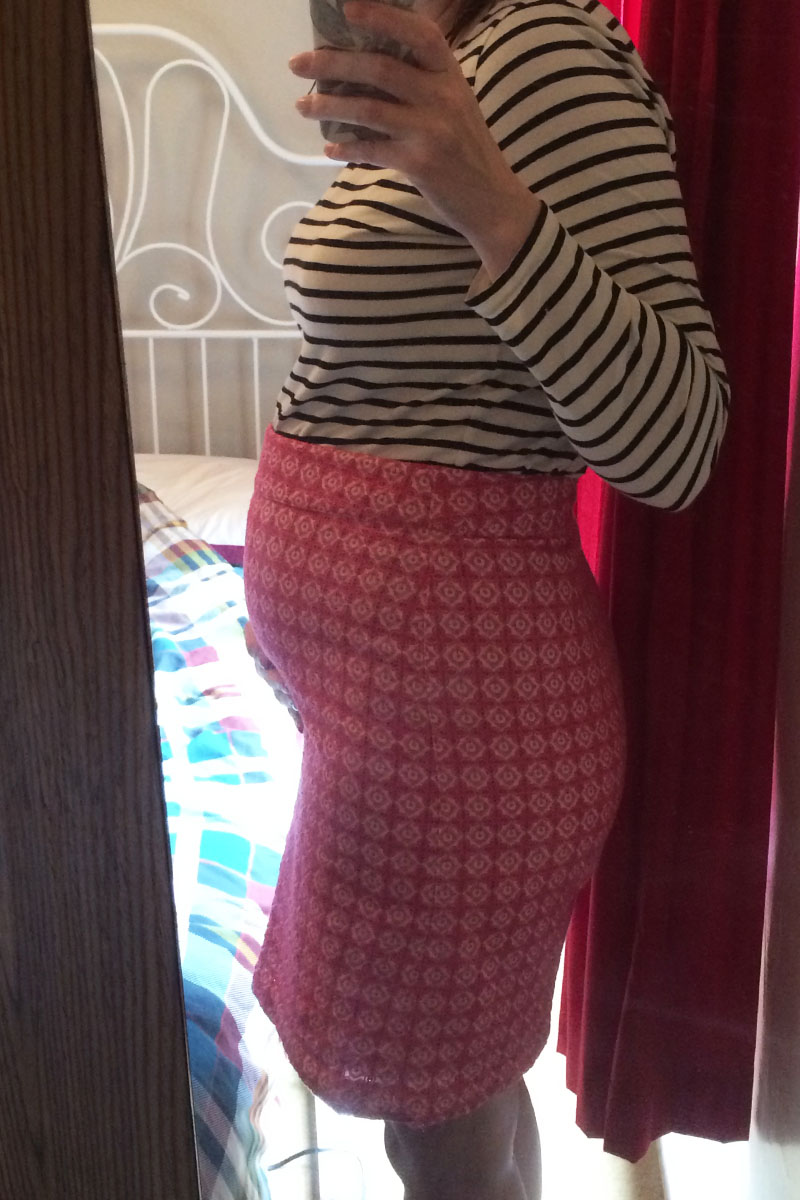 16 weeks pregnant, Bumpkin betty