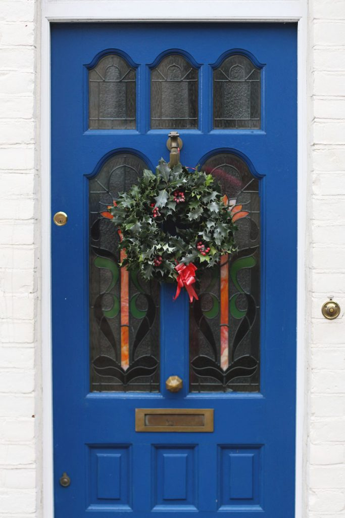 Christmas doors, Bumpkin Betty