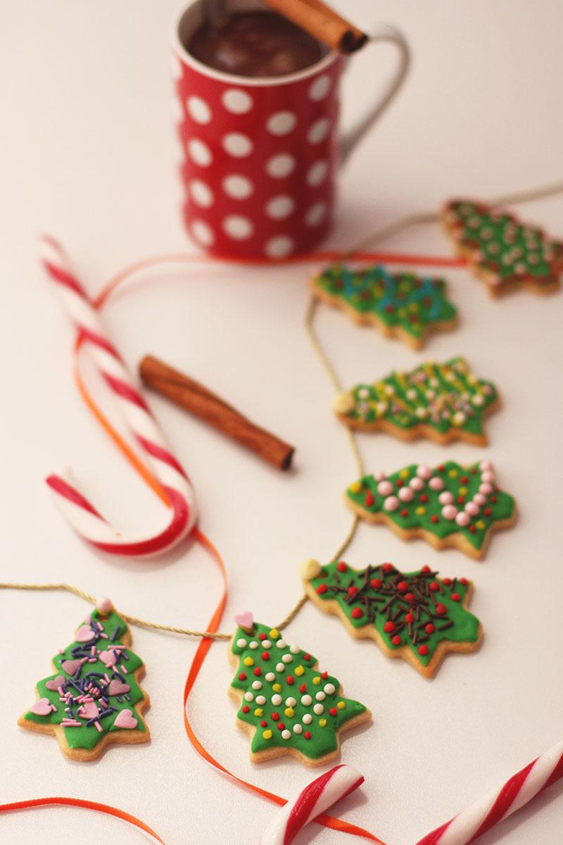 Edible christmas tree cookies, Bumpkin Betty