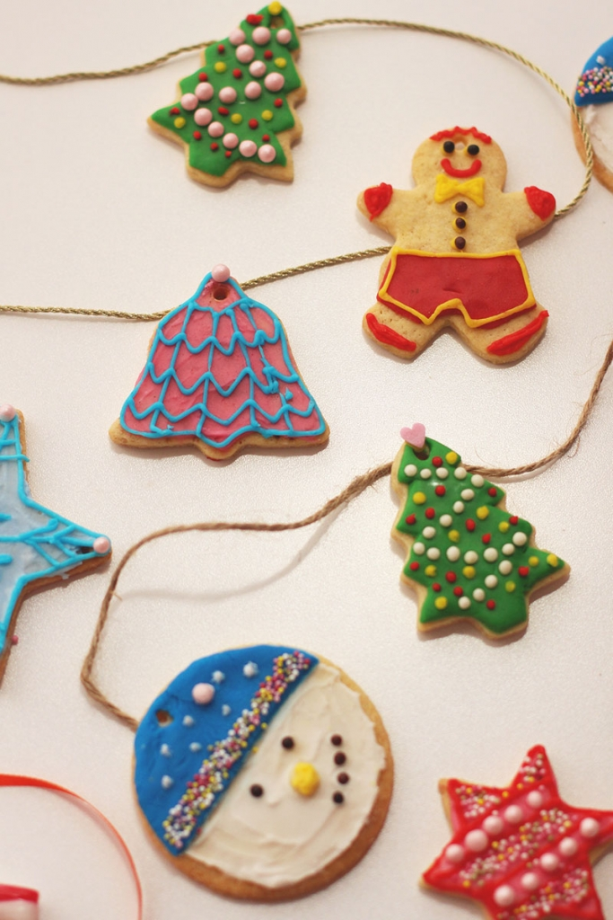 Festive Iced cookies, Bumpkin Betty