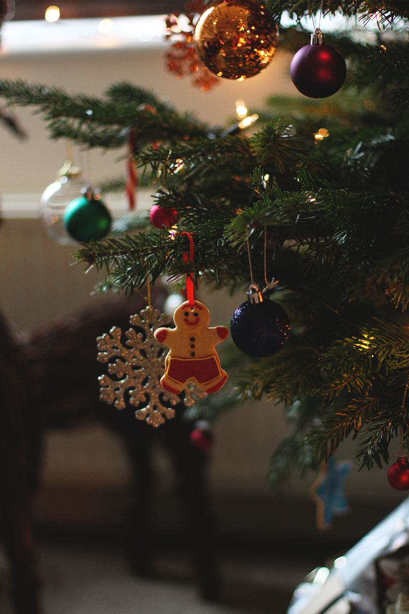 Festive tree decorations, Bumpkin Betty