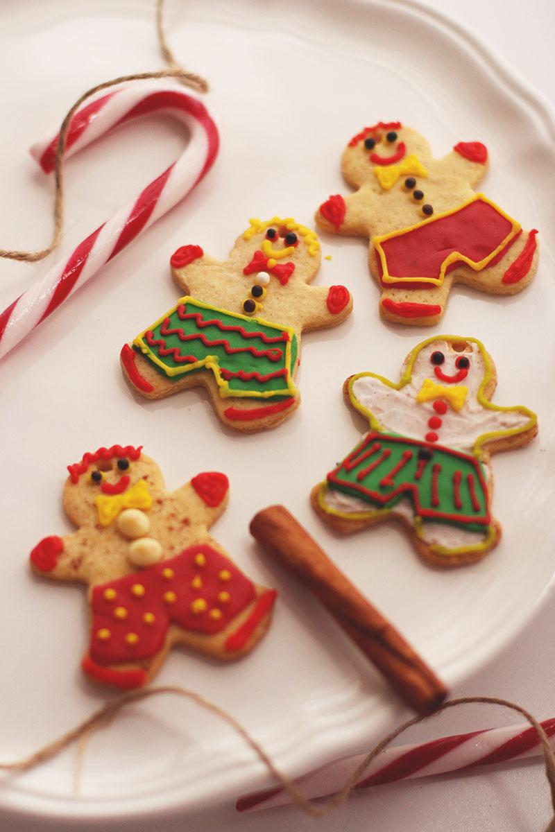 Gingerbread iced cookies recipe, Bumpkin Betty