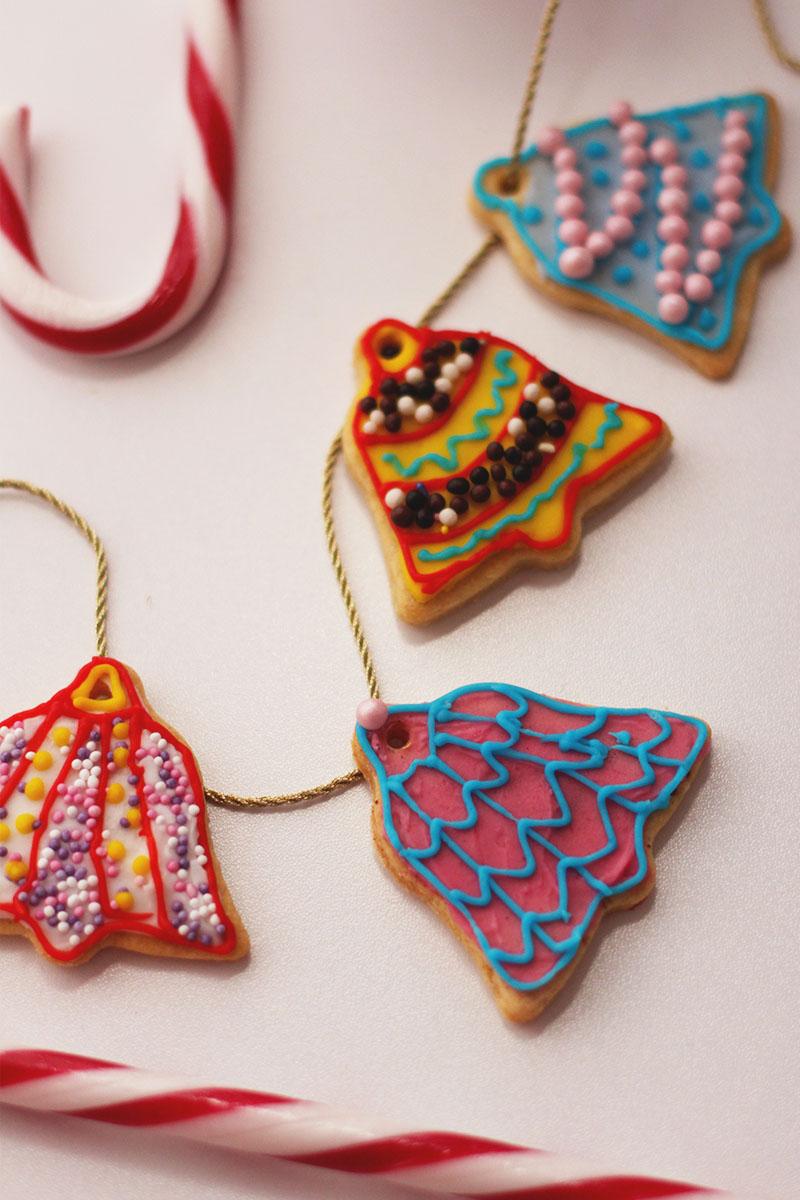 How to make christmas tree cookies, Bumpkin betty