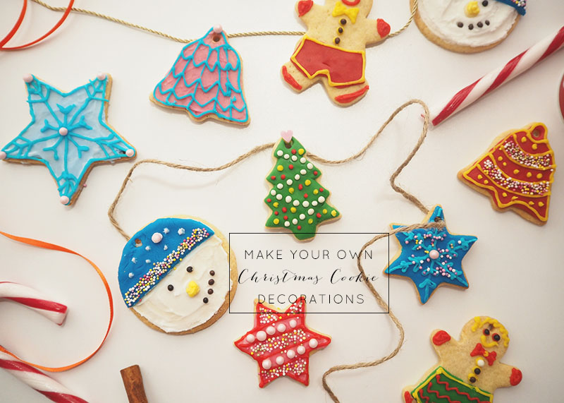 How to make your own christmas cookie decorations, Bumpkin betty