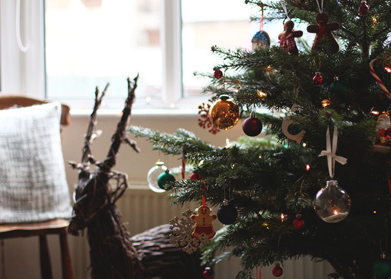 How to update your living room for Christmas, Bumpkin Betty