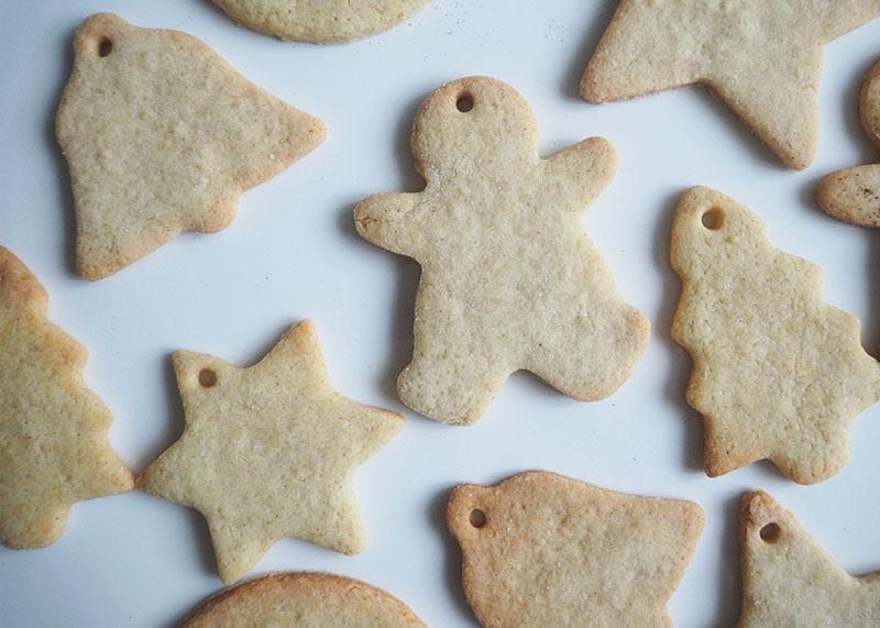 Iced christmas cookies, Bumpkin Betty