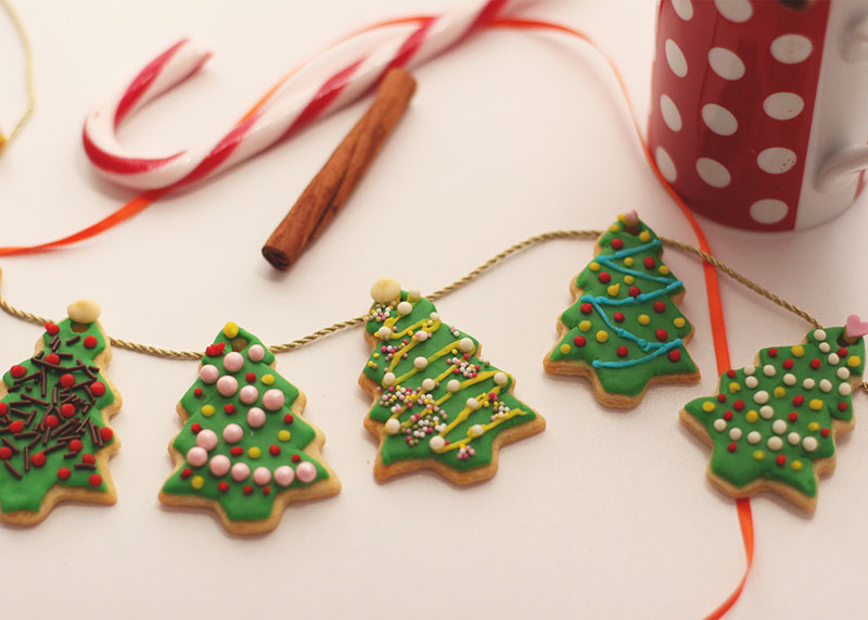 Iced tree cookie recipe, Bumpkin betty