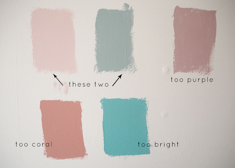 paint swatches for the spare room, Bumpkin Betty