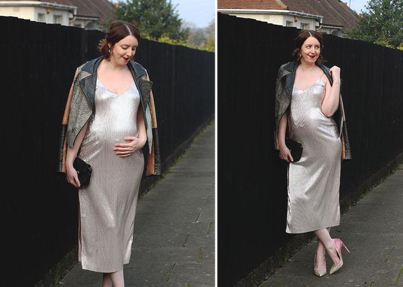 Party wear ideas when pregnant, Bumpkin Betty