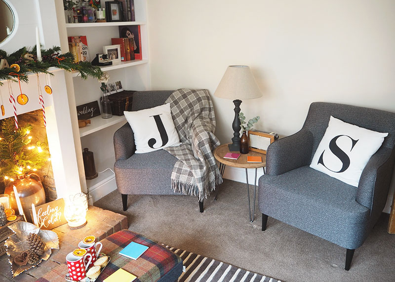 Rustic and scottish styled living room, Bumpkin Betty