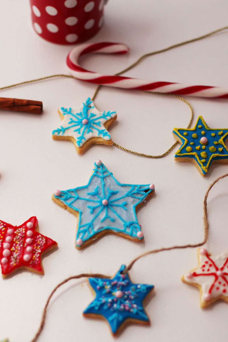 Snowflake christmas cookie recipe, Bumpkin betty