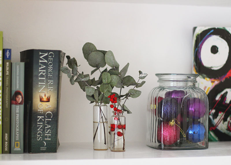 Styling your shelves by Colour, Bumpkin Betty