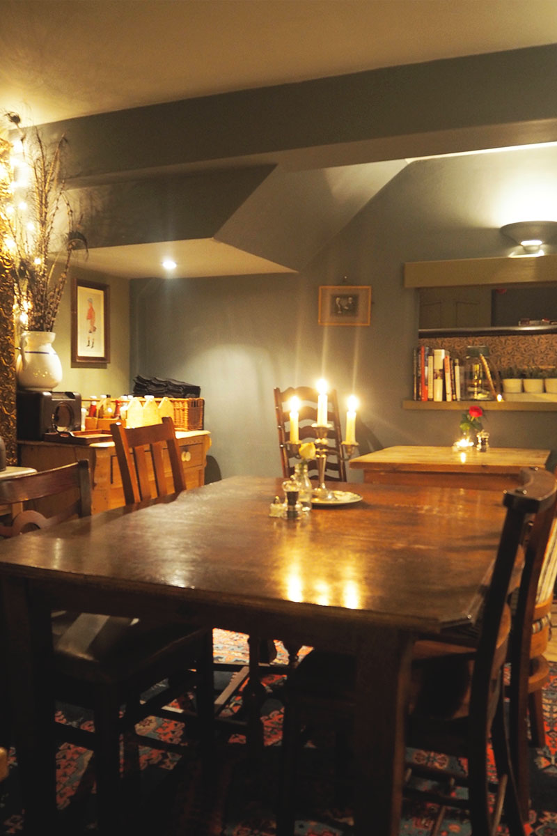 The corner house dinner winchester, Bumpkin betty
