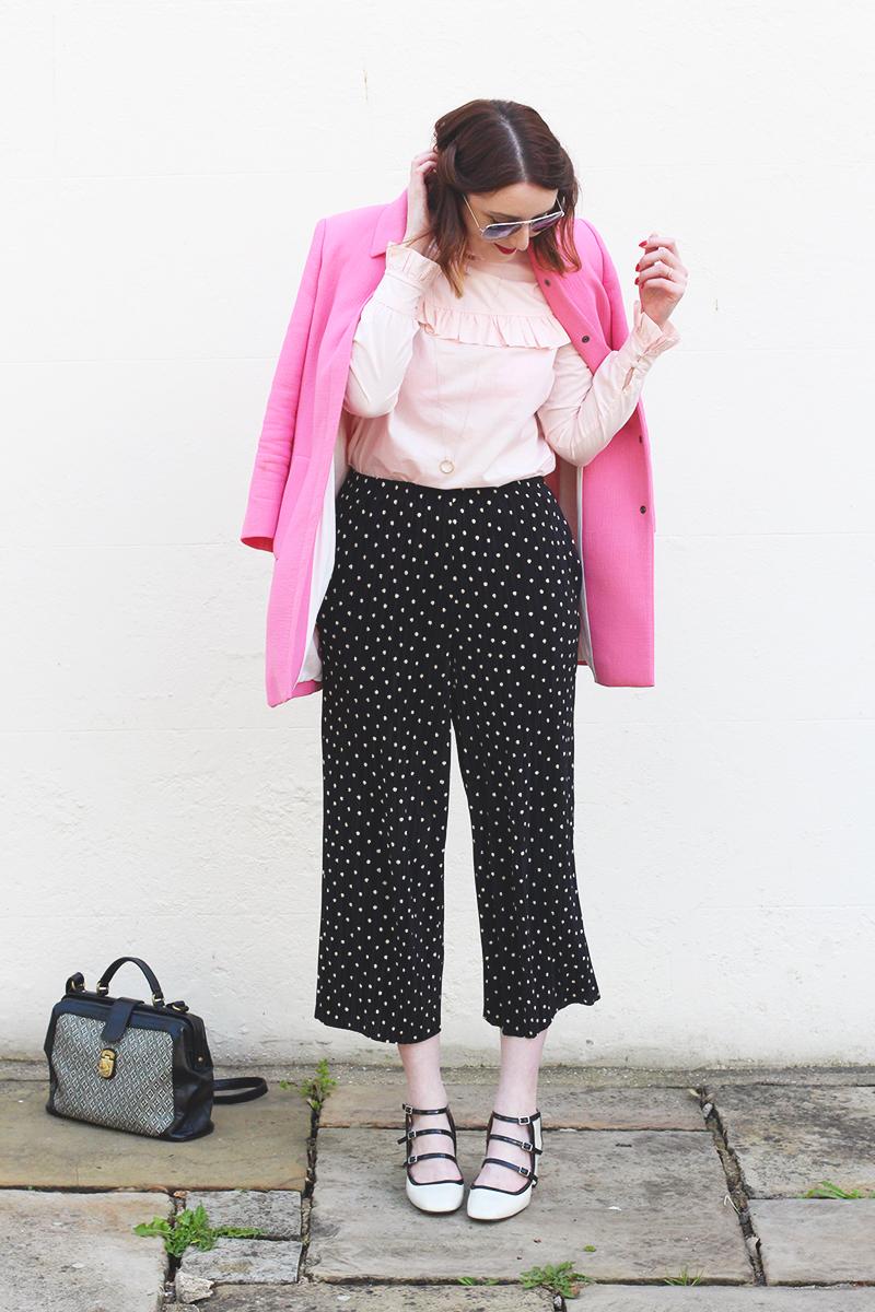 Pink and polkadots, Bumpkin Betty