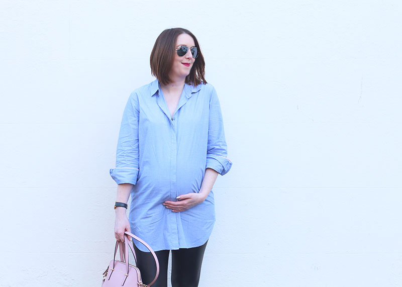 34 weeks pregnant outfit, Bumpkin Betty