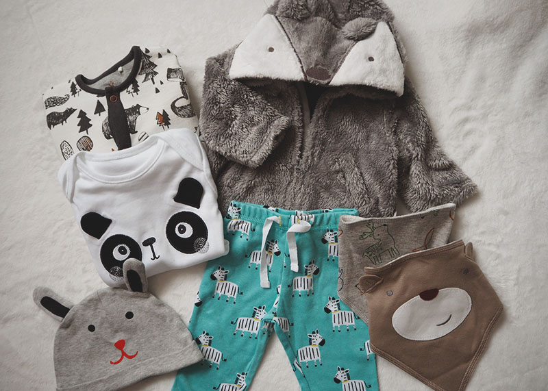 animal themed baby clothes, Bumpkin Betty
