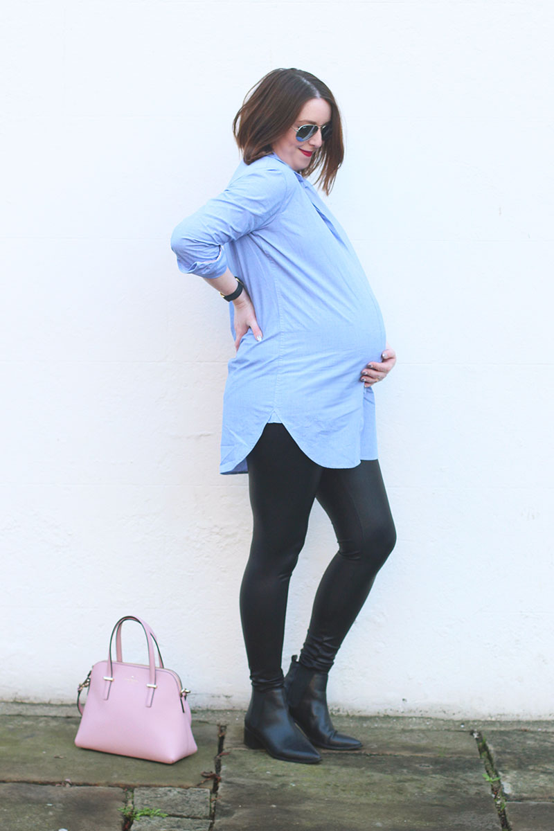 Dressing the bump at 34 weeks, Bumpkin Betty