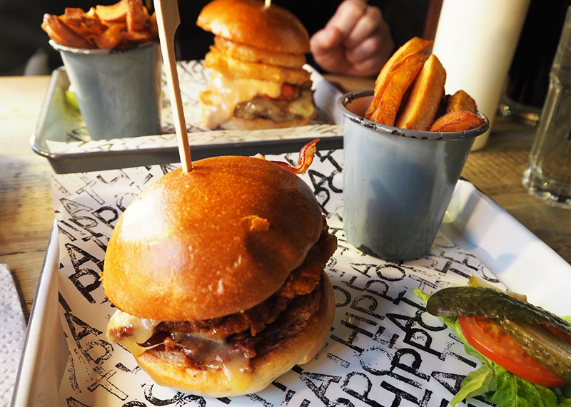 Fat Hippo burgers Durham, Bumpkin Betty