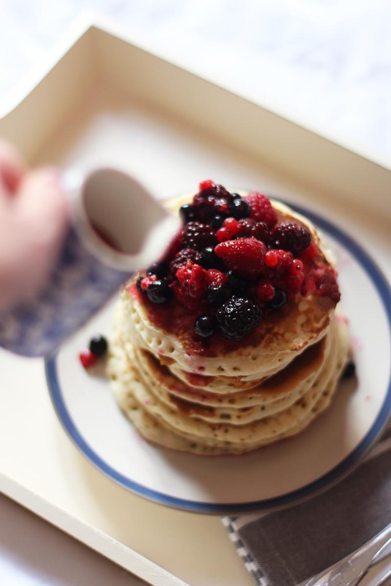 Egg free pancake recipe, Bumpkin Betty