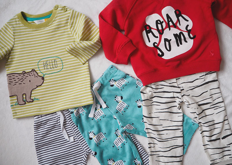 John Lewis baby clothes, Bumpkin Betty