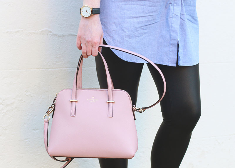 Kate spade pink satchel bag, Bumpkin Betty