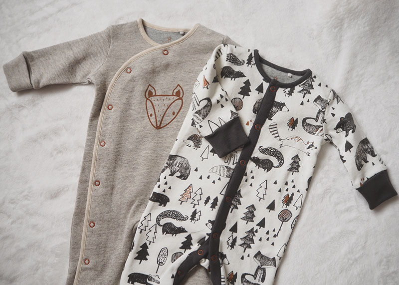 Next fox sleepsuits, Bumpkin Betty