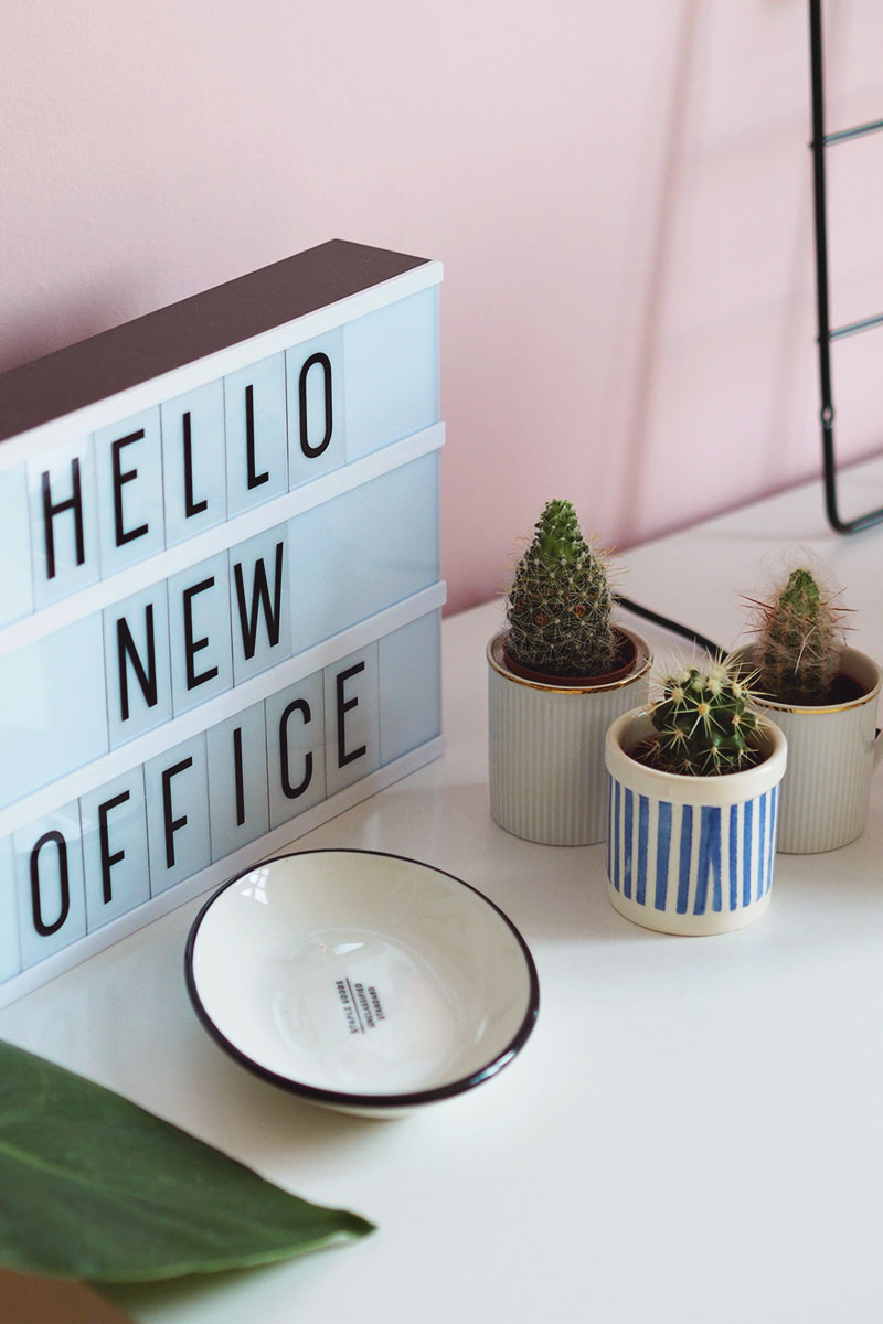 pink home office space, Bumpkin Betty