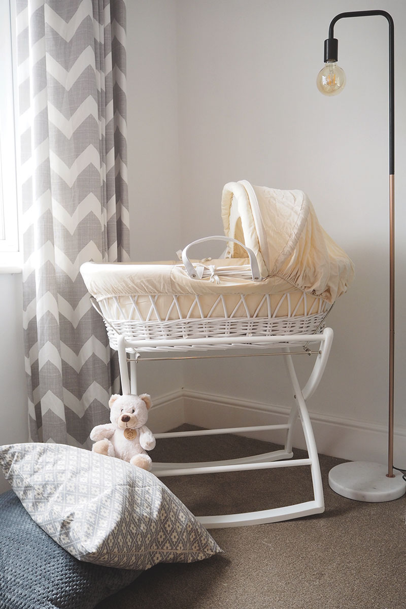 Izziwotnot moses basket, Bumpkin Betty