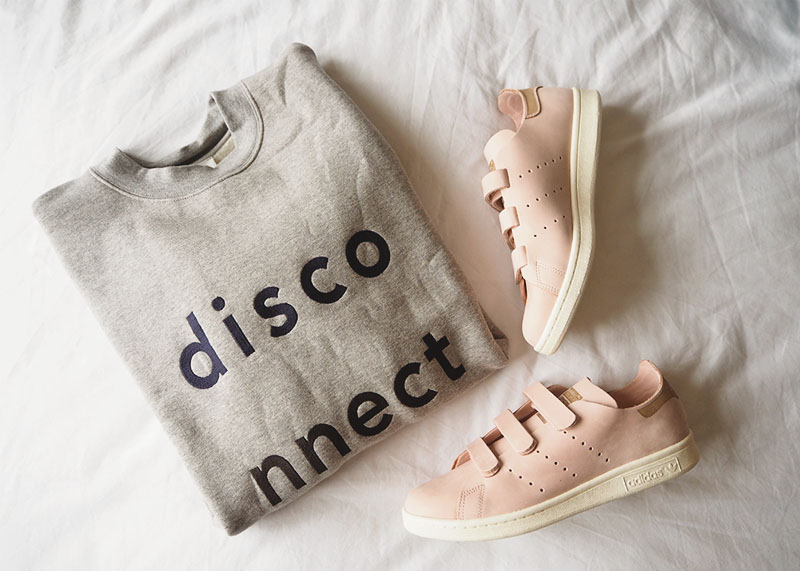 Adidas pink suede stan smith trainers, Bumpkin Betty