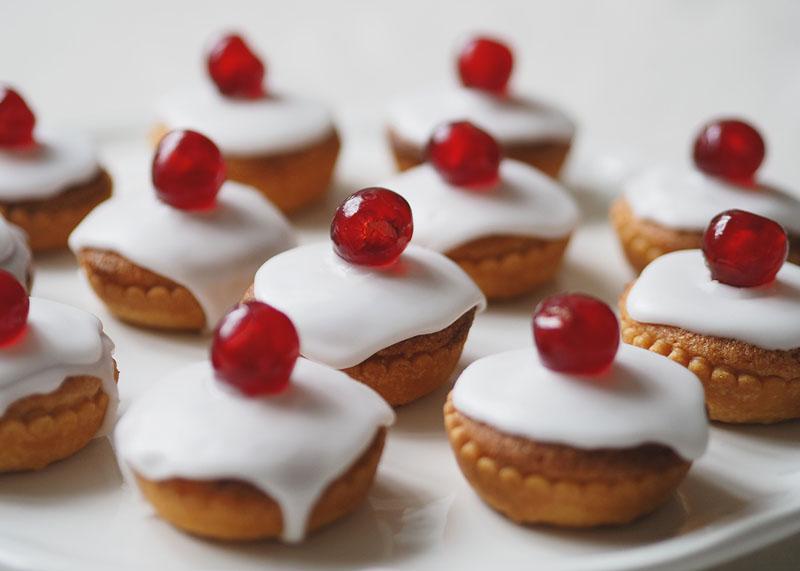 Cherry bakewell tarts recipe, Bumpkin Betty