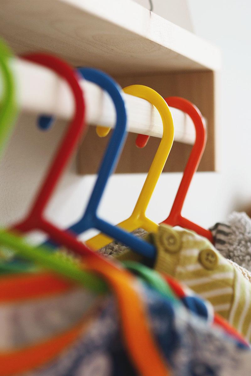 Coloured nursery hangers, Bumpkin Betty