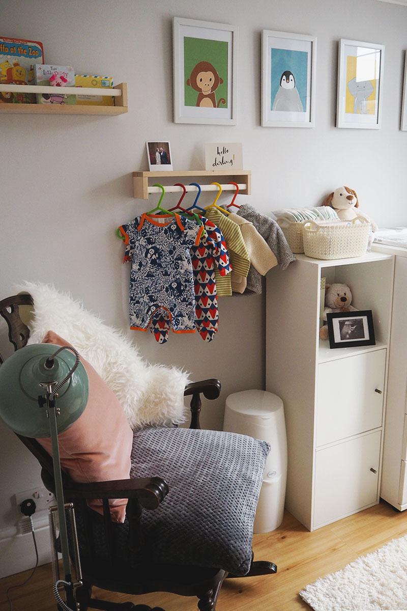 Colourful nursery decoration ideas, Bumpkin Betty