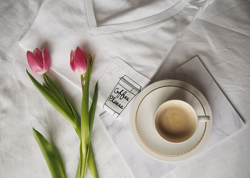 Forever 21 coffee please T-shirt, Bumpkin Betty