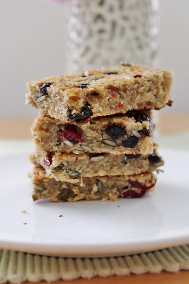 Fruity flapjacks recipe, Bumpkin Betty baking club