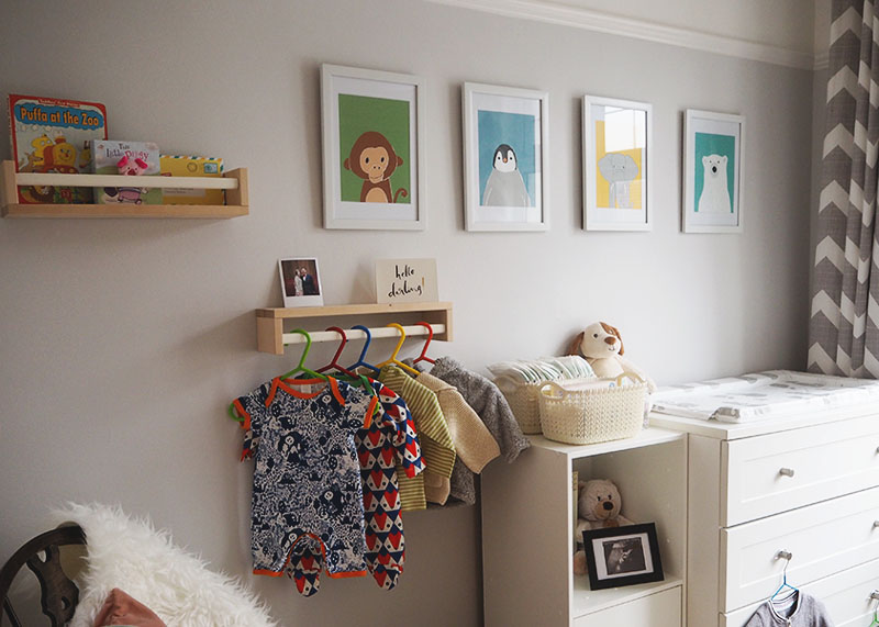 How to decorate your nursery, Bumpkin Betty