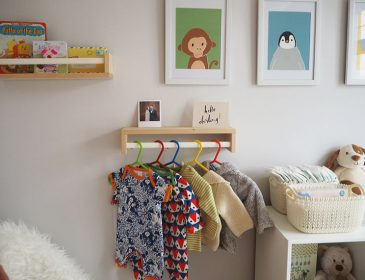 Nursery makeover before and after, Bumpkin Betty