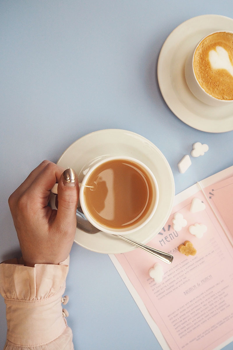 Pastel themed cafes in london, Bumpkin Betty
