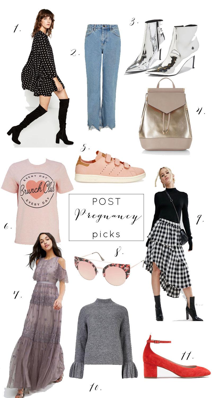 Post pregnancy shopping list, Bumpkin Betty