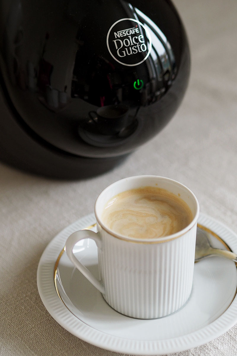 Review of Dolce Gusto coffee machine, Bumpkin betty