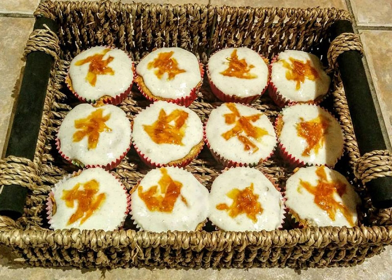 Sugar and fat free carrot cake, Bumpkin Betty Baking Club