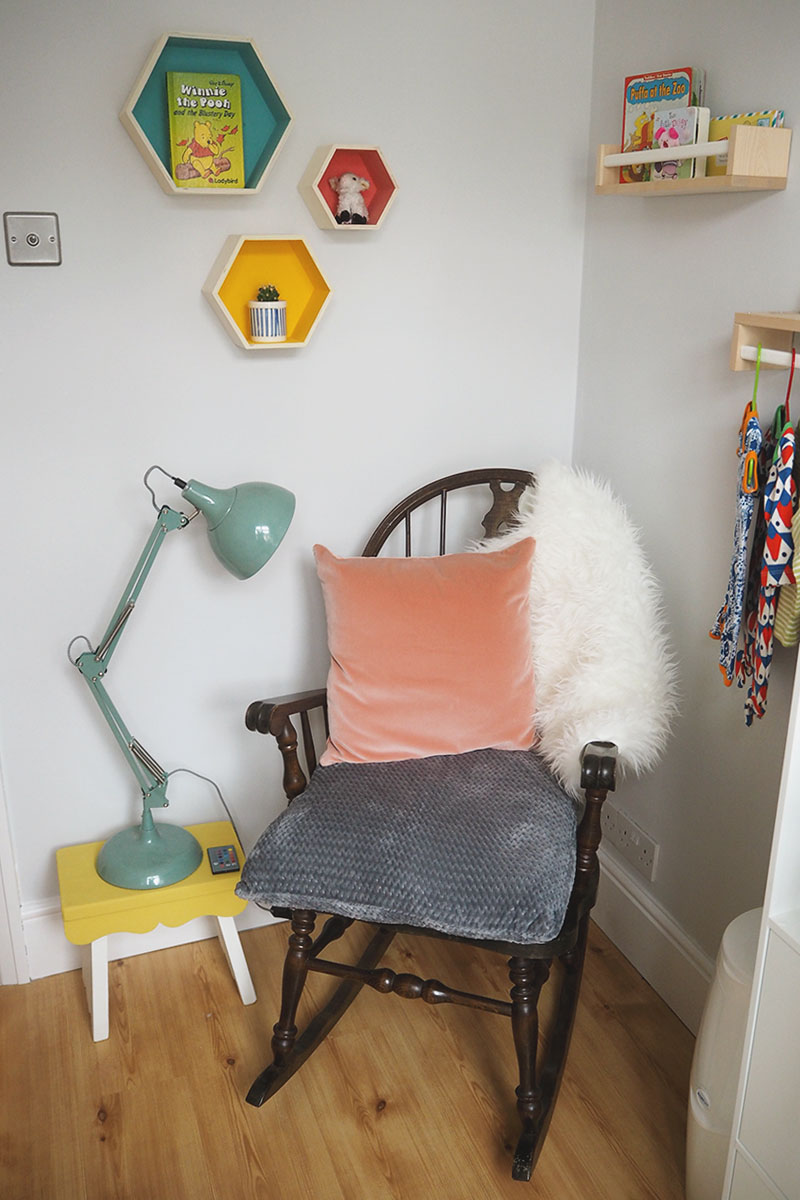 Vintage rocking chair for nursery, Bumpkin Betty