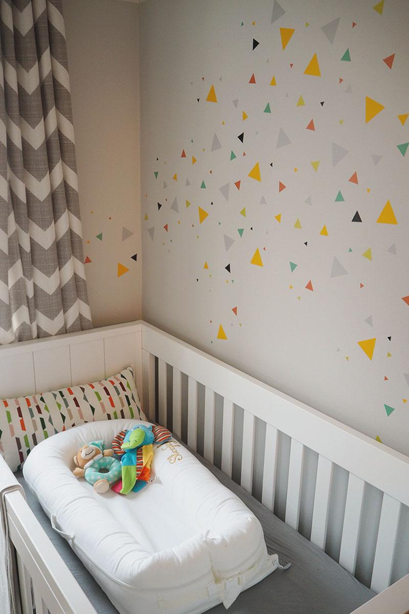 geometric traingle wall decoration, Bumpkin betty
