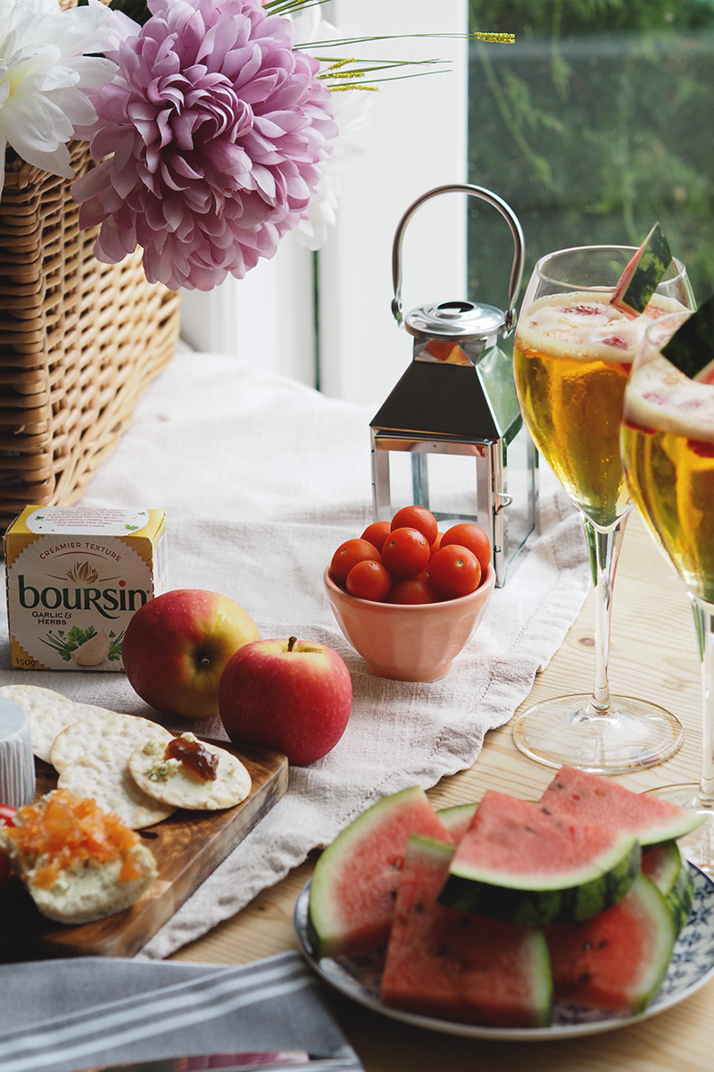 Summer snacking with Boursin, Bumpkin Betty